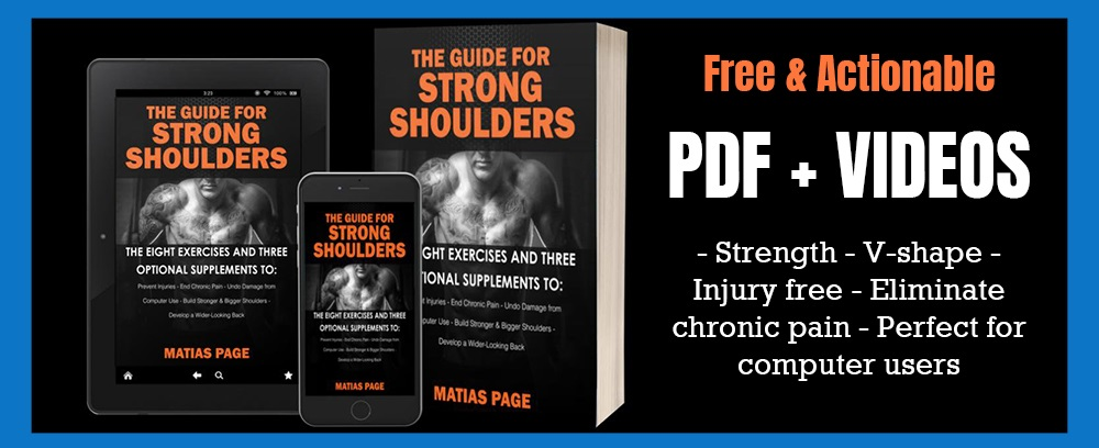 hormetik matias page guide for Strong Shoulders